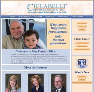 Ciccarelli_website_screen_capture
