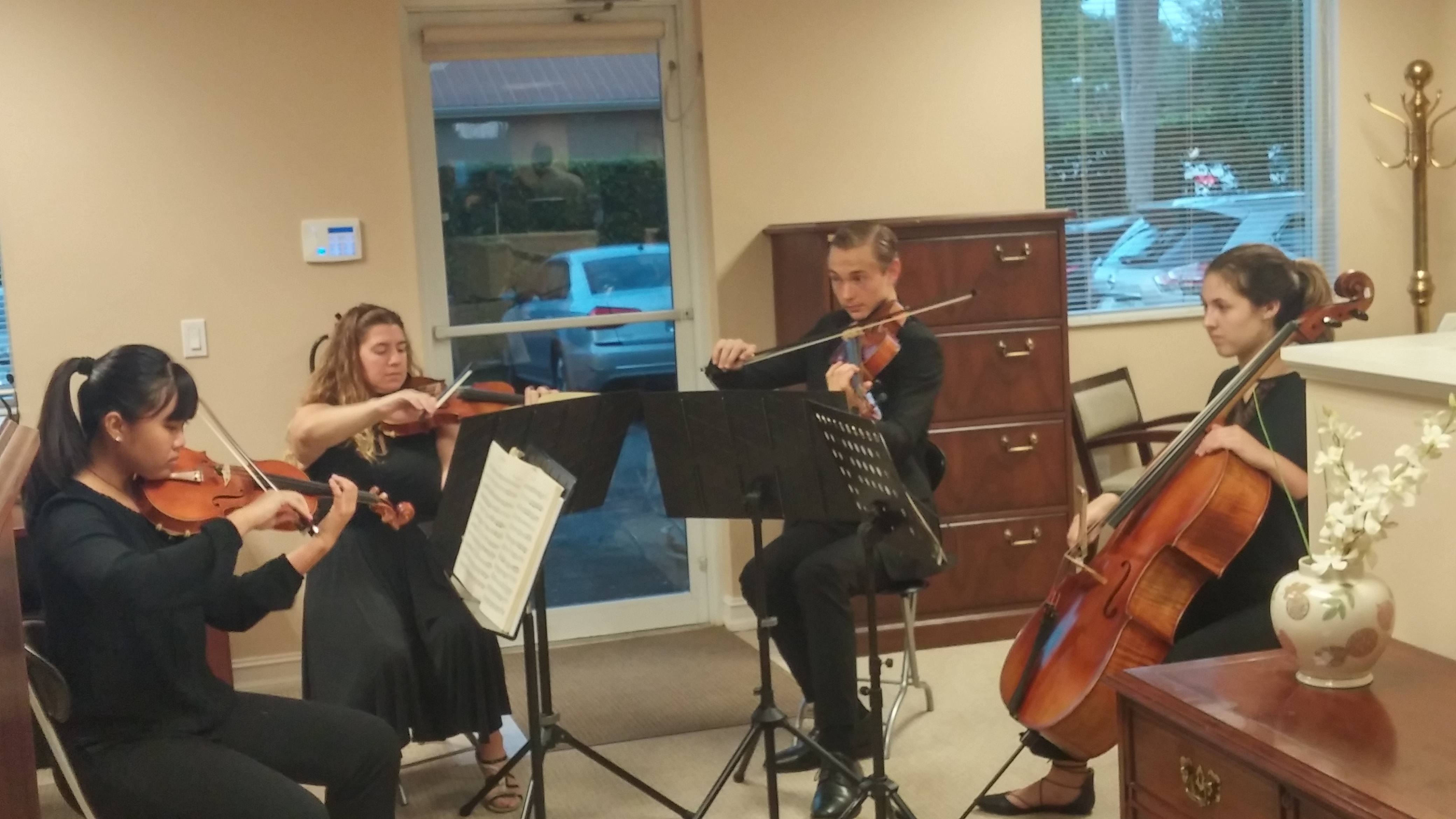 String Musicians from Gulf Coast HS