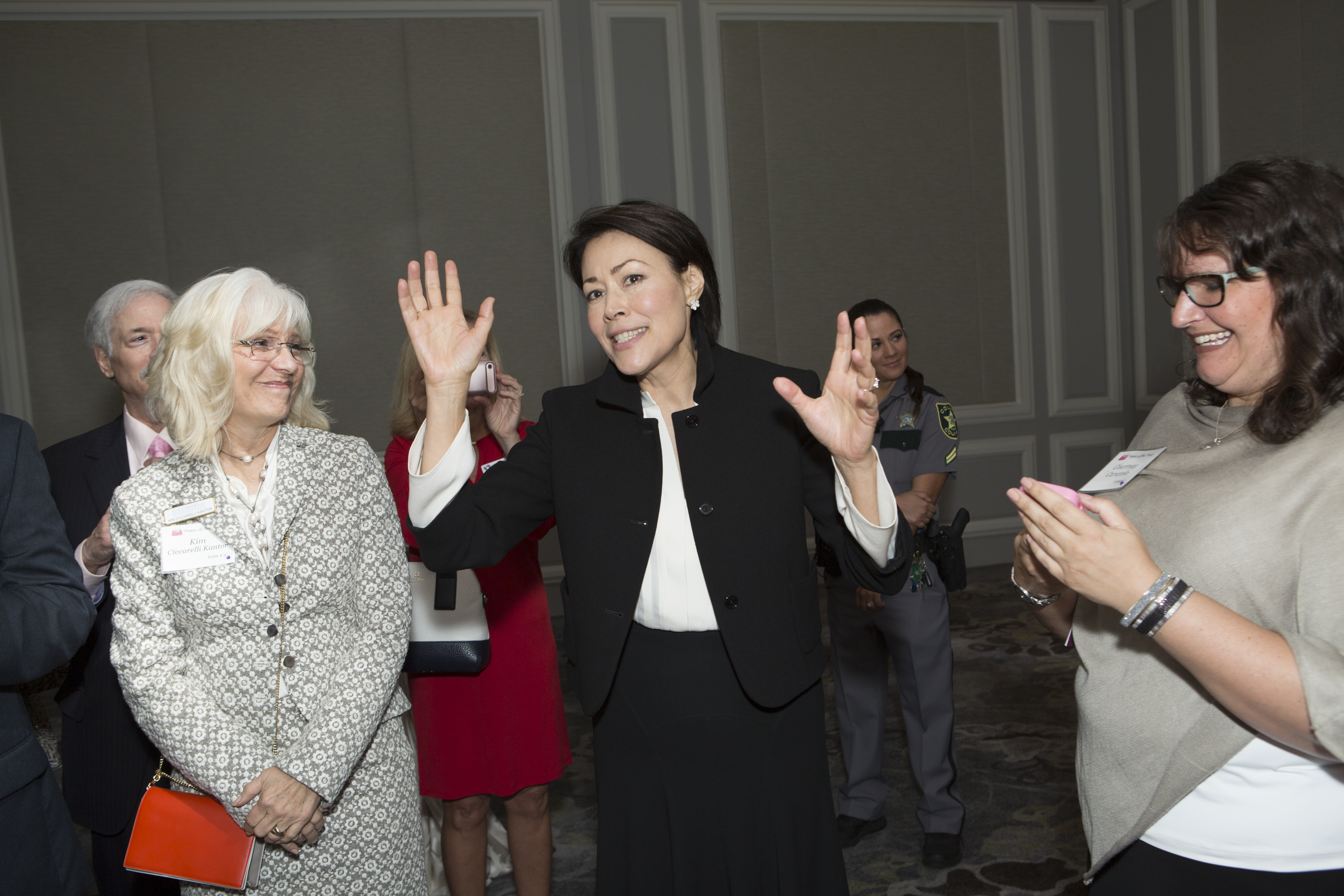 Ann Curry Reception #5